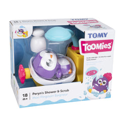 Tomy Toomies Peryns Shower & Scrub - Toyworld