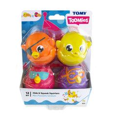 Tomy Hide & Squeak Bath Squirters - Toyworld