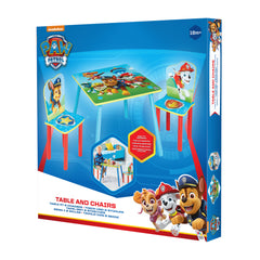 Paw Patrol Table And Chairs - Toyworld