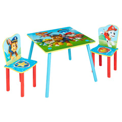 Paw Patrol Table And Chairs Img 2 - Toyworld