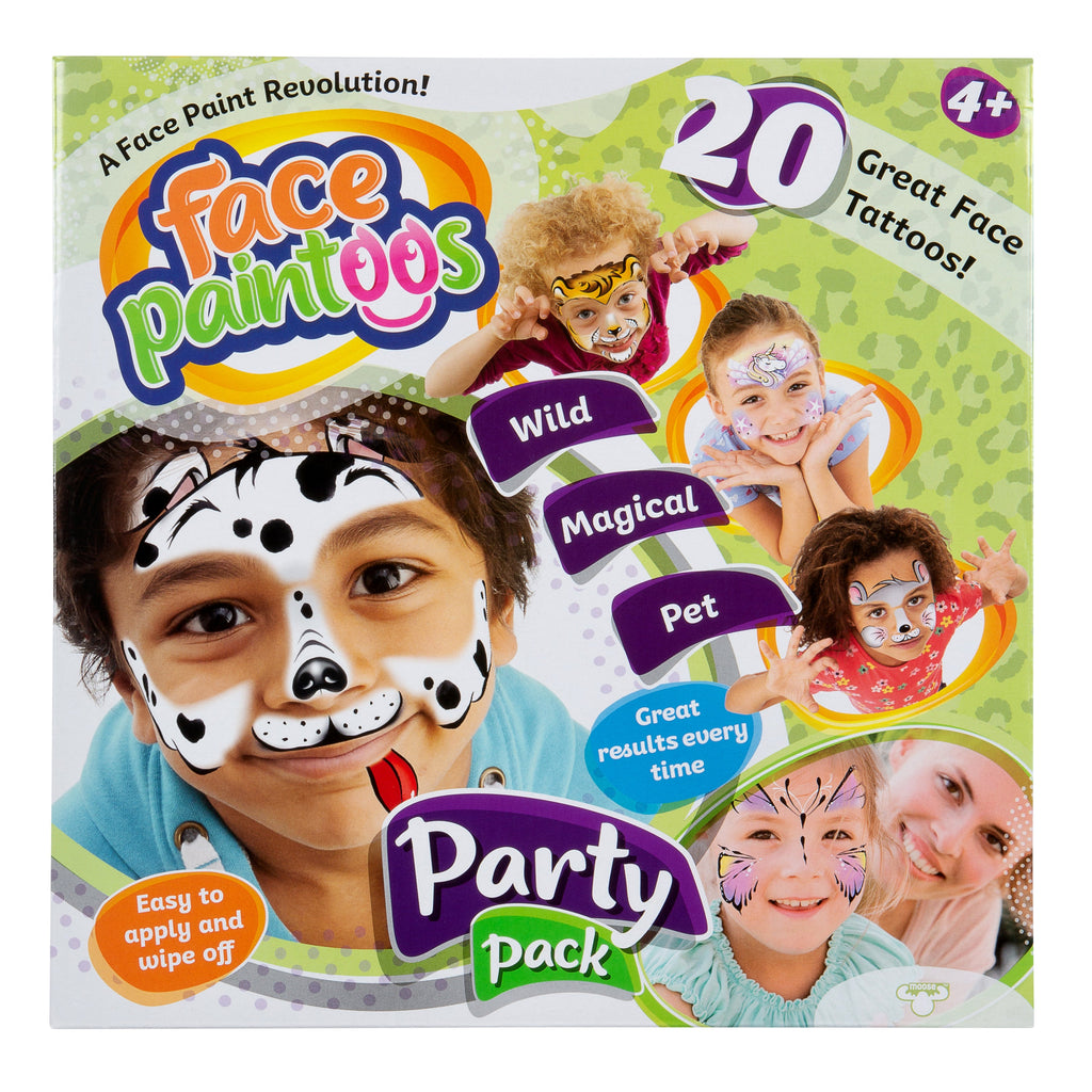 Face Paintoos Party Pack - Toyworld