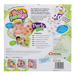 Face Paintoos Party Pack Img 1 - Toyworld