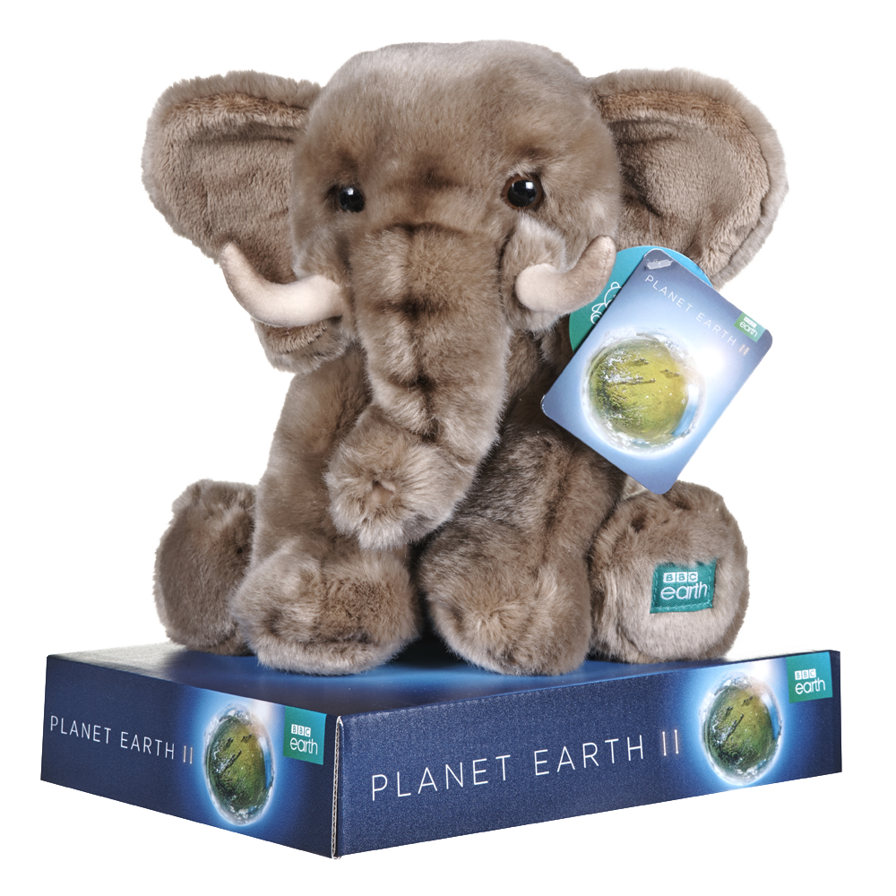 BBC BLUE PLANET ELEPHANT PLUSH