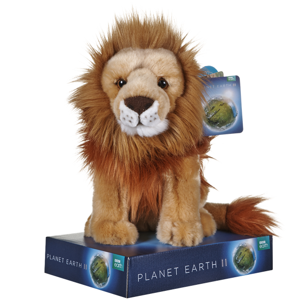 BBC BLUE PLANET LION PLUSH