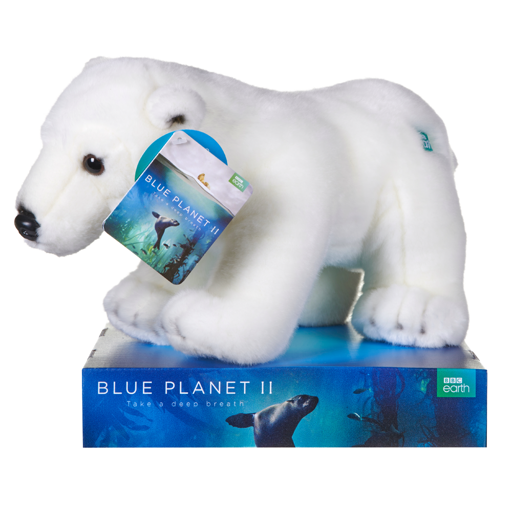 Bbc Blue Planet Polar Bear Plush - Toyworld