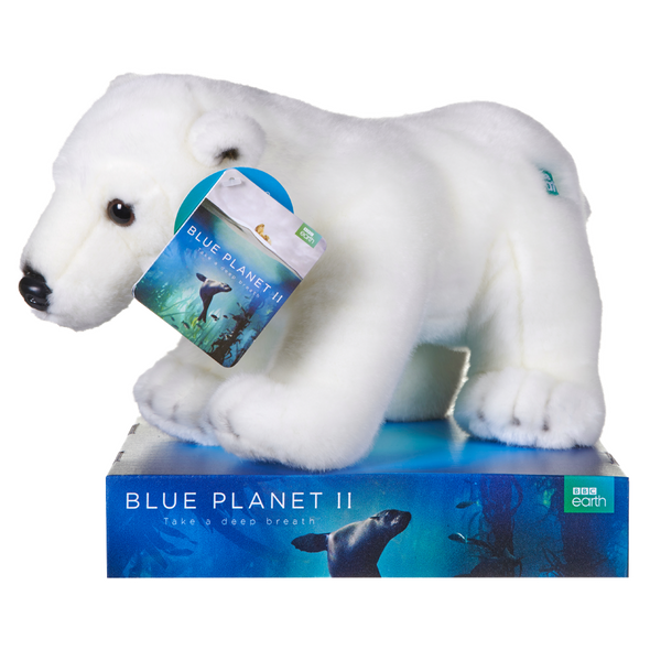 BBC BLUE PLANET POLAR BEAR PLUSH