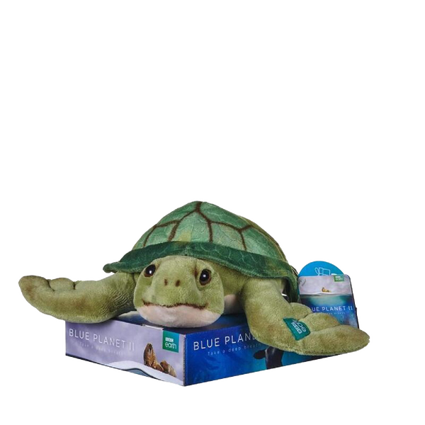 BBC BLUE PLANET TURTLE PLUSH
