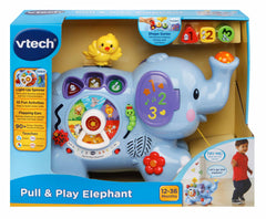 Vtech Pull & Play Elephant Img 2 - Toyworld