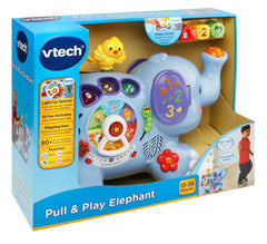 Vtech Pull & Play Elephant Img 1 - Toyworld