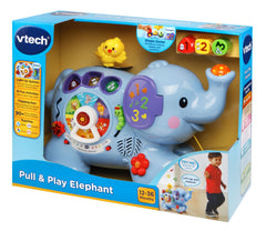 Vtech Pull & Play Elephant Img 3 - Toyworld