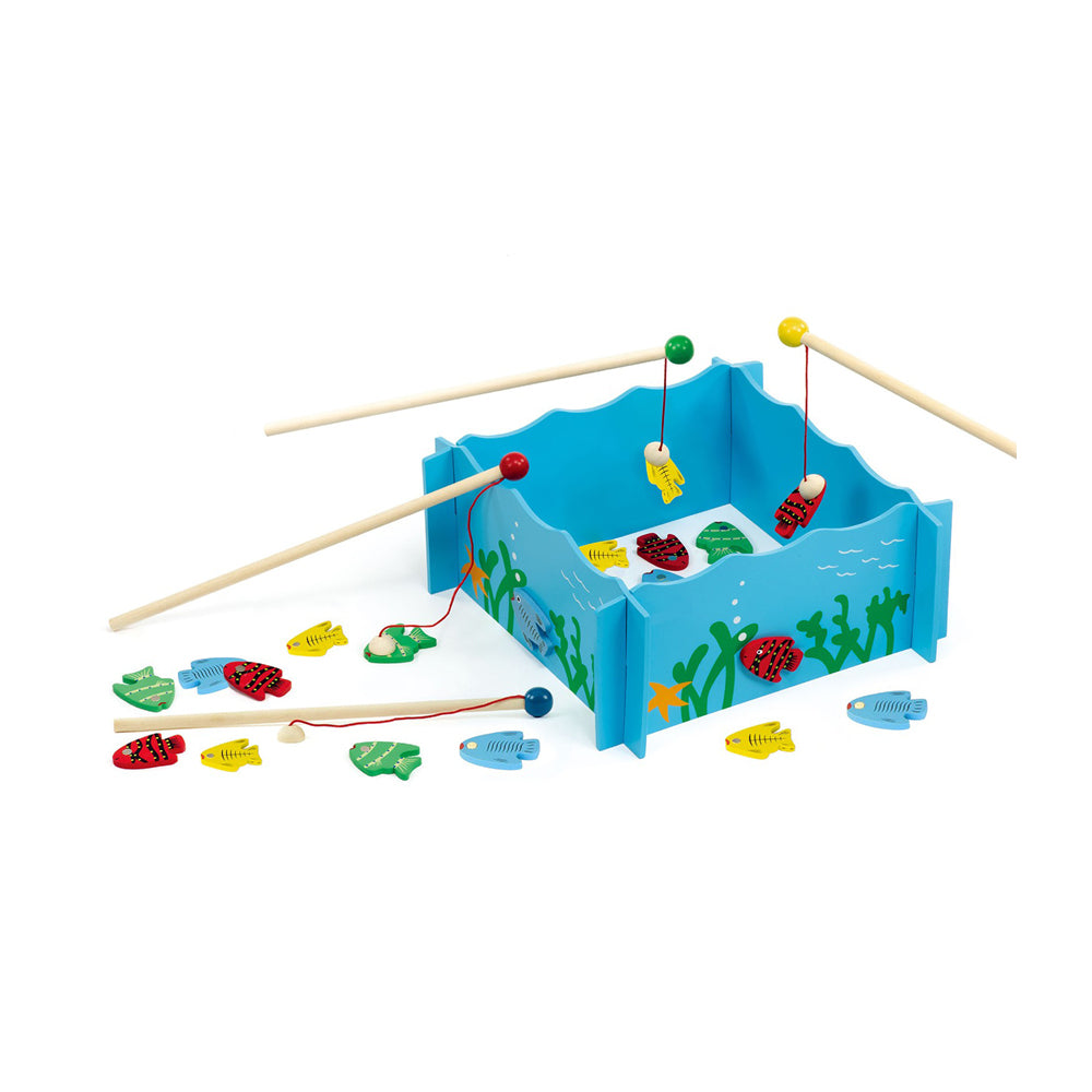 Fishing Game With Wood Tank - Toyworld