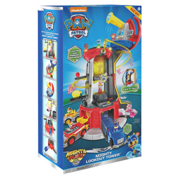 Paw Patrol Mighty Pups Mighty Lookout Tower - Toyworld