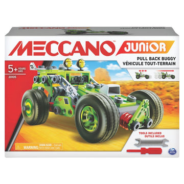 Meccano Junior Deluxe Racecar - Toyworld