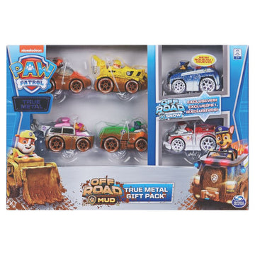 Paw Patrol True Metal Classic Gift Pack - Toyworld