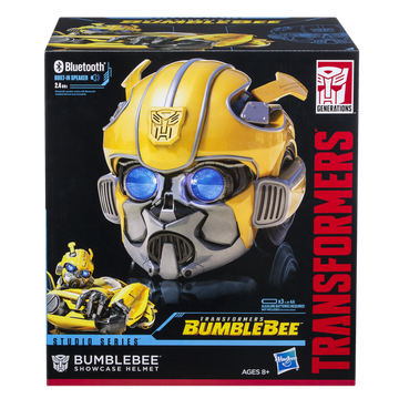 Transformers Bumblebee Movie Studio Series Bumblebee Showcase Helmet - Toyworld