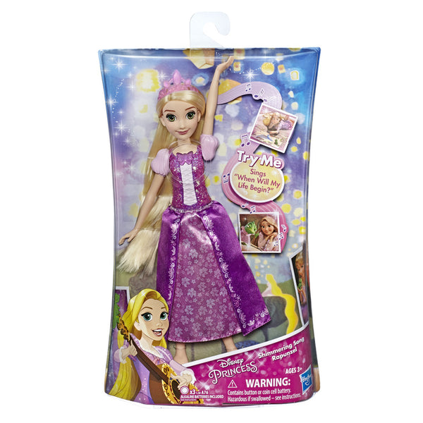 Disney Princess Rapunzel Singing Fashion Doll - Toyworld