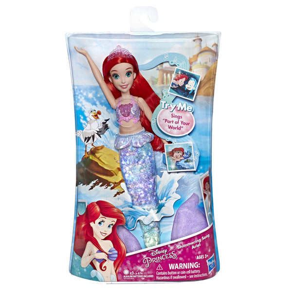 Disney Princess Ariel Singing Fashion Doll - Toyworld