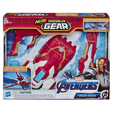 Nerf Marvel Assembler Gear Iron Man - Toyworld
