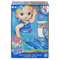 BABY ALIVE SHIMMER N SPLASH MERMAID (BLONDE HAIR)