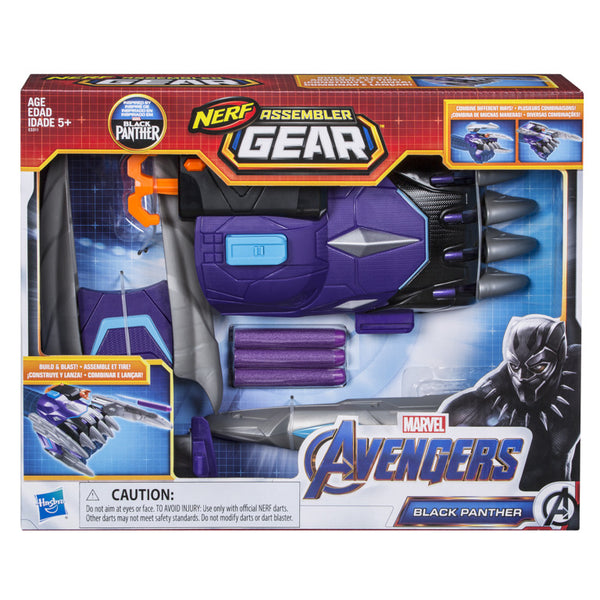 Nerf Assembler Gear Avengers Black Panther - Toyworld