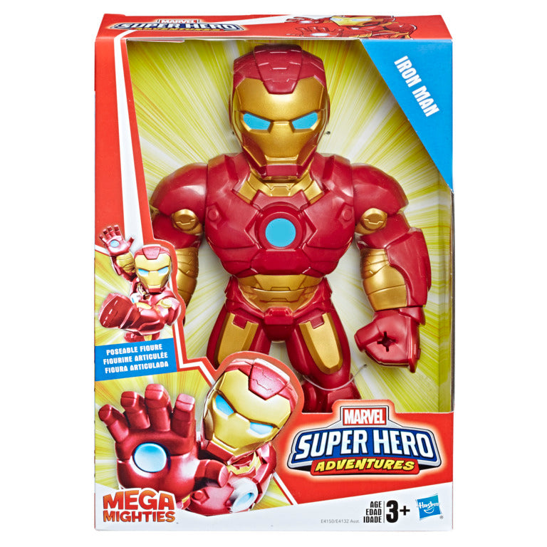 Marvel Super Hero Adventures Mega Mighties Iron Man - Toyworld