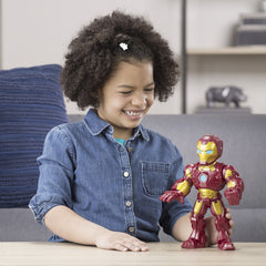 Marvel Super Hero Adventures Mega Mighties Iron Man Img 3 - Toyworld