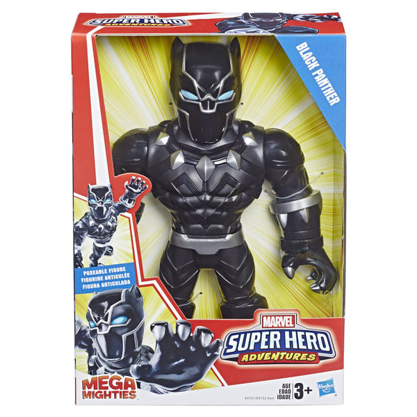 MARVEL SUPER HERO ADVENTURES MEGA MIGHTIES BLACK PANTHER