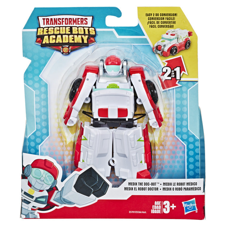 TRANSFORMERS RESCUE BOT MEDIX AMBULANCE