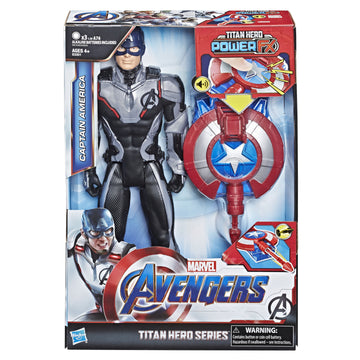 Marvel Avengers Titan Hero Series Power Fx Captain America - Toyworld