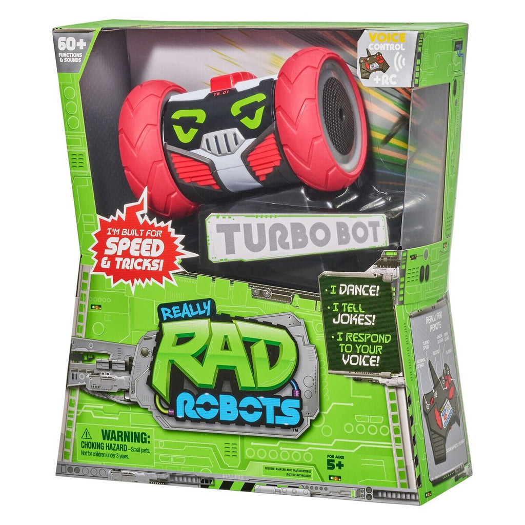 REALLY RAD ROBOTS RC TURBO BOT