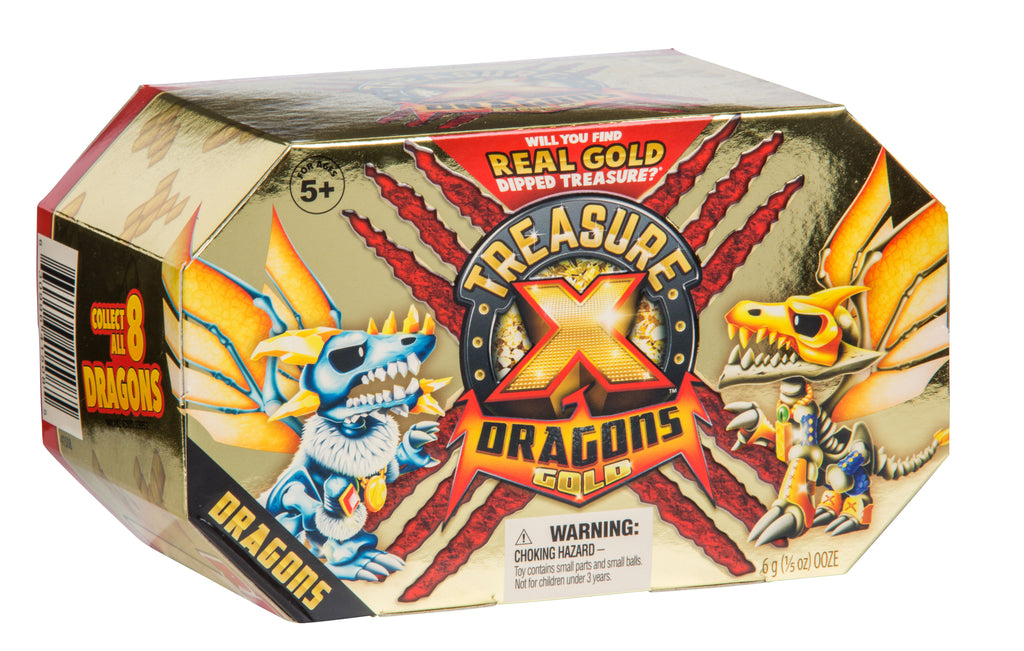 Treasure X Dragons Single Pack - Toyworld
