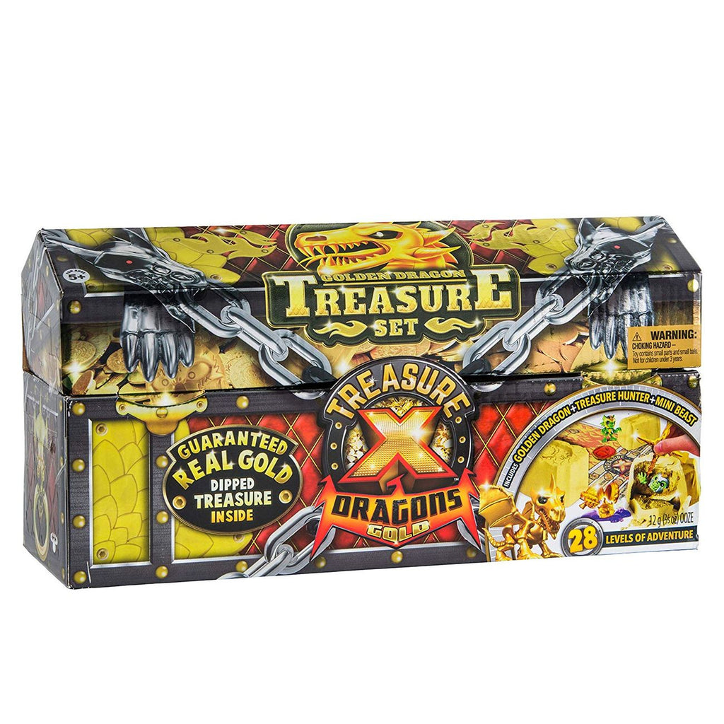 Treasure X Dragons 3 Pack Chest - Toyworld