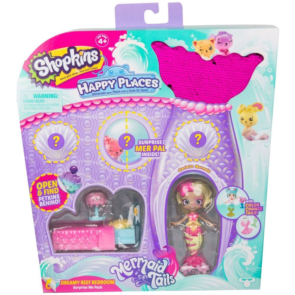 SHOPKINS HAPPY PLACES DREAMY REEF BEDROOM PLAYSET
