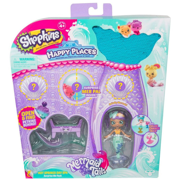 Shopkins Happy Places Bellafly Mermaid Playset - Toyworld