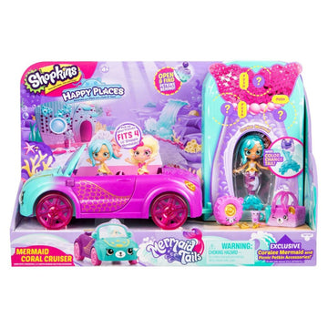 Shopkins Happy Places Mermaid Coral Cruiser - Toyworld