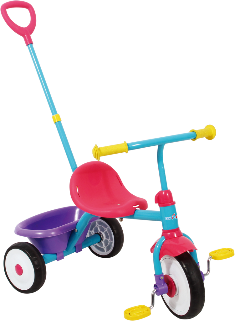 Trike Star My First Trike With Push Handle - Toyworld