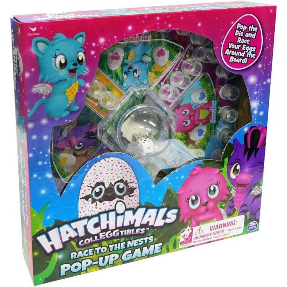 Hatchimals Press O Matic Board Game - Toyworld