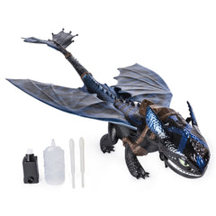 How To Train Your Dragon Giant Fire Breathing Toothless Img 2 - Toyworld