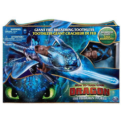 How To Train Your Dragon Giant Fire Breathing Toothless - Toyworld