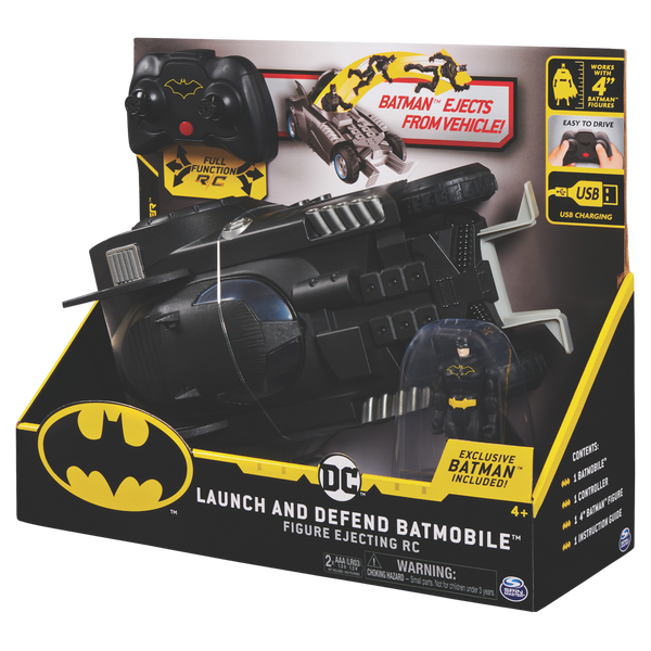 Batman Rc Launch & Defend Batmobile - Toyworld