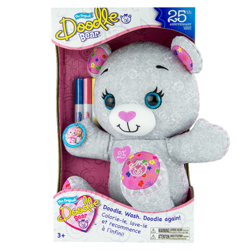 Doodle Bear 25Th Anniversary Edition - Toyworld
