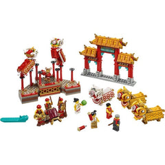 Lego Chinese Lion Dance 80104 Img 1 - Toyworld