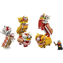 Lego Chinese Lion Dance 80104 Img 2 - Toyworld