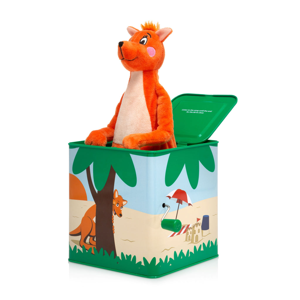 Mizzie The Kangaroo Musical Hop Out Mizzie - Toyworld
