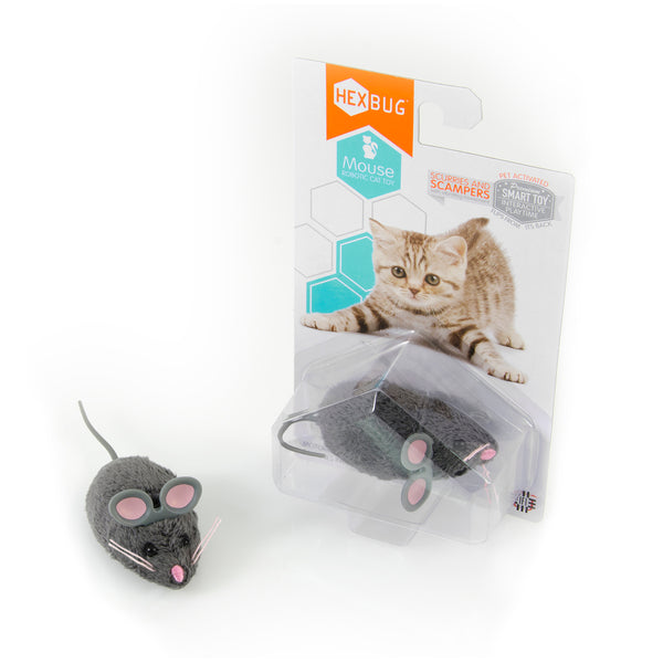 Hexbug Mouse Grey - Toyworld