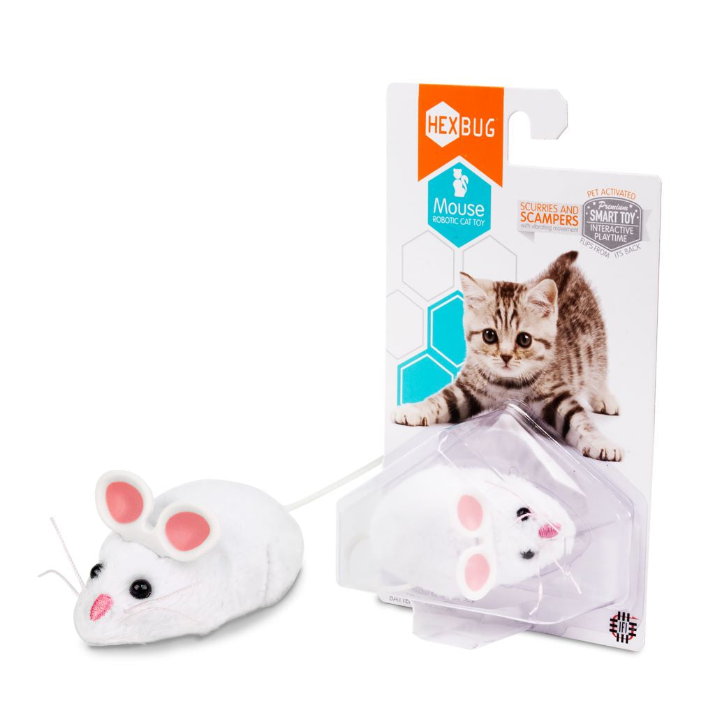 HEXBUG MOUSE WHITE