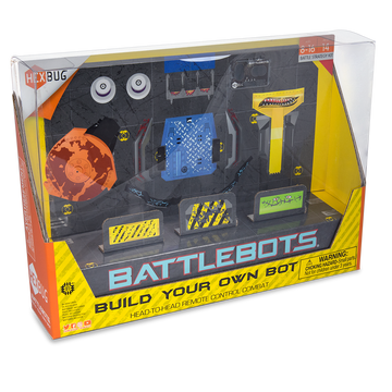 Hexbug Battle Bots Build Your Own Bot Blue - Toyworld