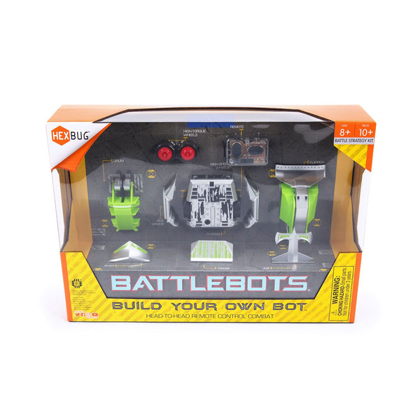 Hexbug Battle Bots Build Your Own Bot Green - Toyworld