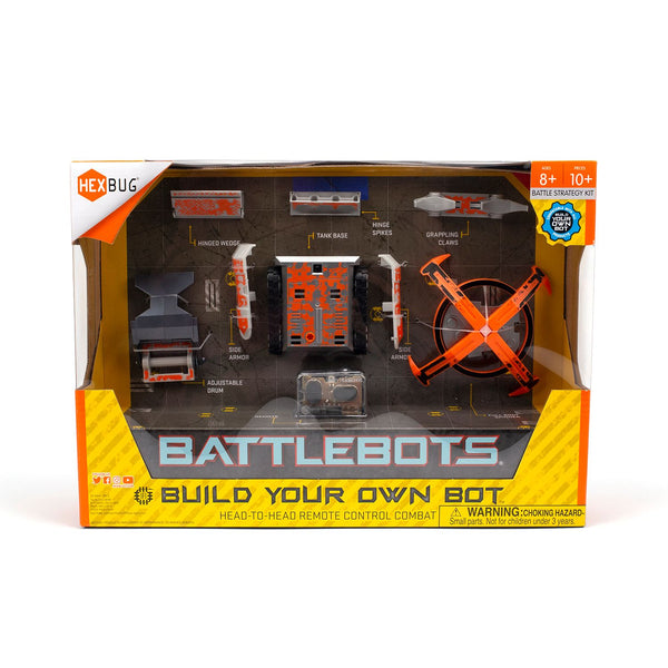 Hexbug Battle Bots Build Your Own Bot Orange - Toyworld