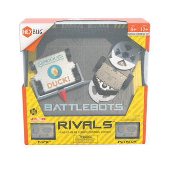 Hexbug Battle Bots Rivals Duck & Rotator - Toyworld